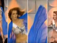 Miss France chute lors des présélections de Miss Univers