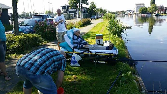 Nog eenmaal een visje vangen in de Reeuwijkse plassen
