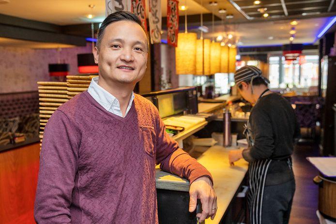 Yi Chen van restaurant Nagoya in Valkenswaard.