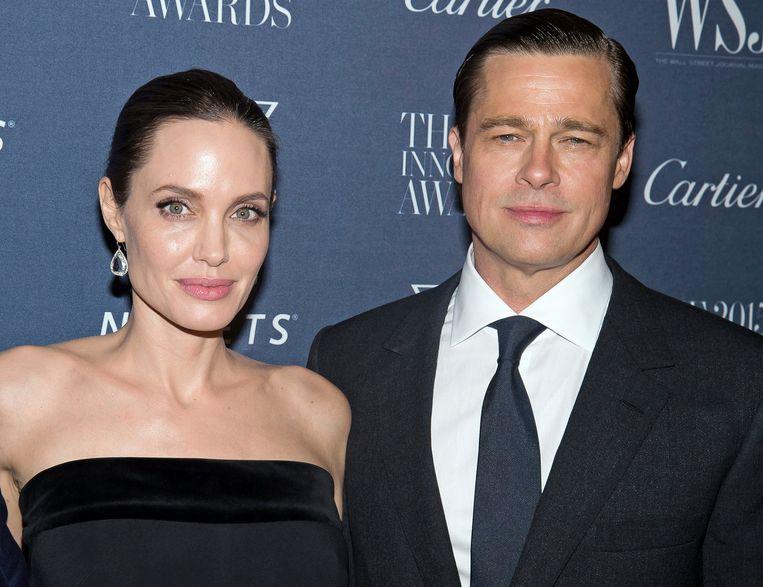 Brad en Angelina vóór hun scheiding