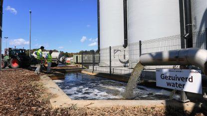 AB InBev levert dagelijks 70 kubieke meter gezuiverd afvalwater aan Leuvense groendienst