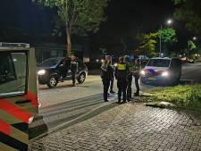 Klopjacht in Dinxperlo: 'gestolen Duitse auto' crasht bij achtervolging, verdachte vlucht te voet grens over