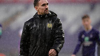 """Vanhaezebrouck kon tegen Gent bijna niet rekenen op matchwinnaar Kums: """"Hij heeft aan 50 procent gespeeld"""""""