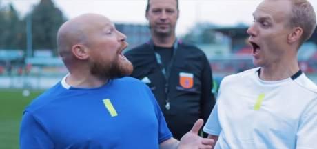 Eibergs feestduo maakt muziekvideo over VAR: 'Het is de va-va-vaaaaar'