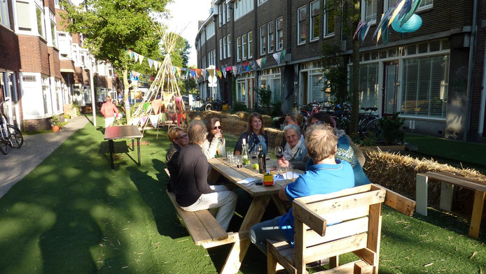 De leefstraat in de Duifstraat in Utrecht