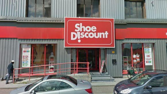 Een schoenwinkel aan de Kolonel Begaultlaan