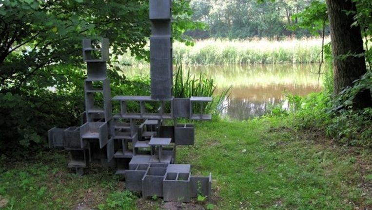 André Volten, Constructie in din 2.0 (1966) Beeld Stedelijk Museum