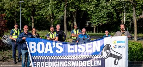 Protest boa's in Rotterdam: vijf dagen lang geen bonnen
