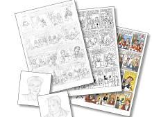 Willeke, koffiejuffrouw van Willem II nog één keer in de schijnwerpers: stripboek voor 125-jarig jubileum krijgt vorm