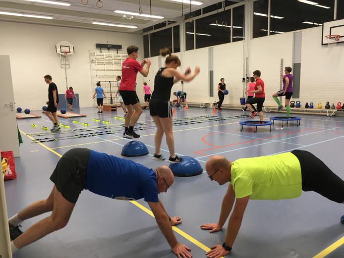 Core Stability training in de Spinne in Goes.