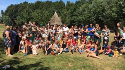Vijftig gezinnen met 'Sint-Vincentiusbaby's' ontmoeten elkaar in De Brielmeersen