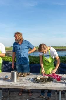 NK oestersteken in Bruinisse: verstand op nul en gaan....