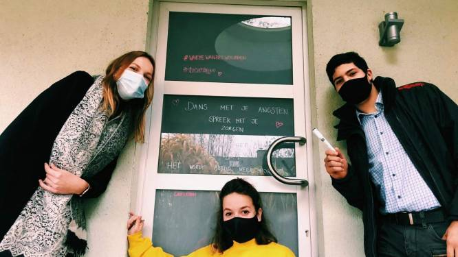 Jong CD&V Zele lanceert raamactie 'Warme Wandel Woorden'