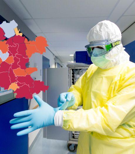 KAART | Recordaantal besmettingen in Apeldoorn en Ermelo, wederom nul positieve tests in Oldebroek