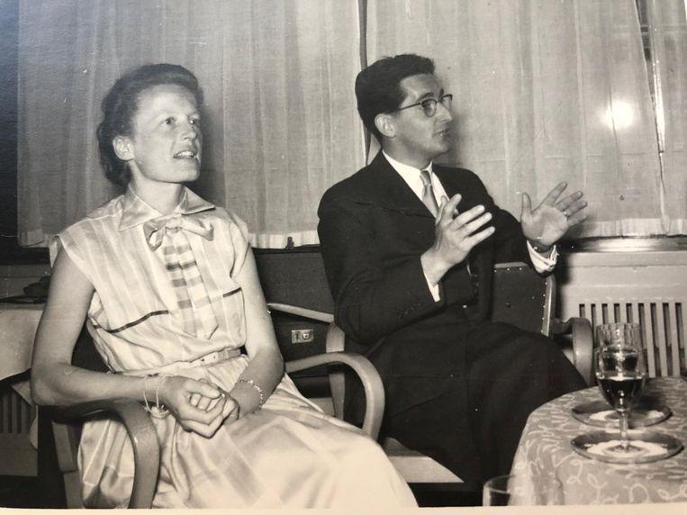 Nelleke en Jan Stoop. Beeld