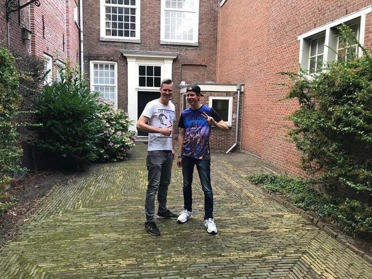 Alex en Stephan.