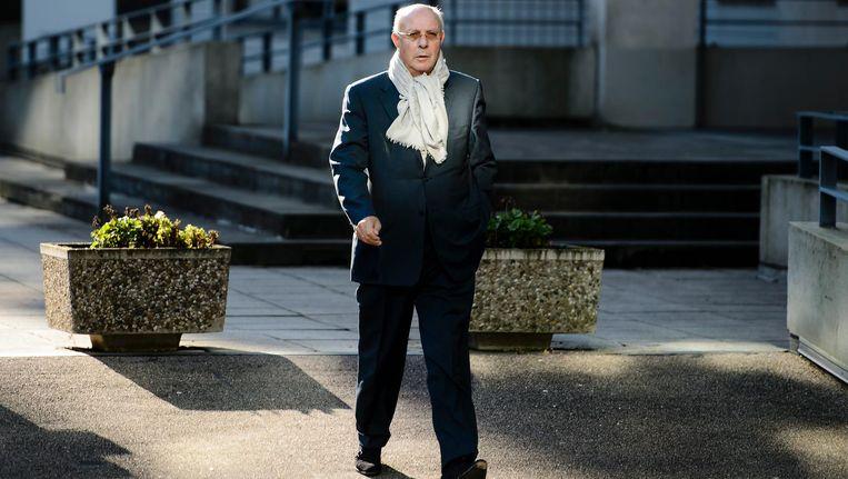 Ex-topman van woningcorporatie Rochdale, Hubert Möllenkamp, arriveert bij de rechtbank in 2015. Beeld anp