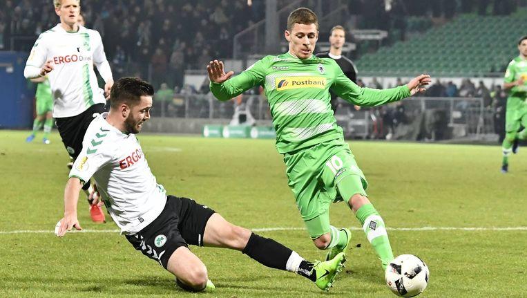 Hazard was weer belangrijk voor Gladbach.
