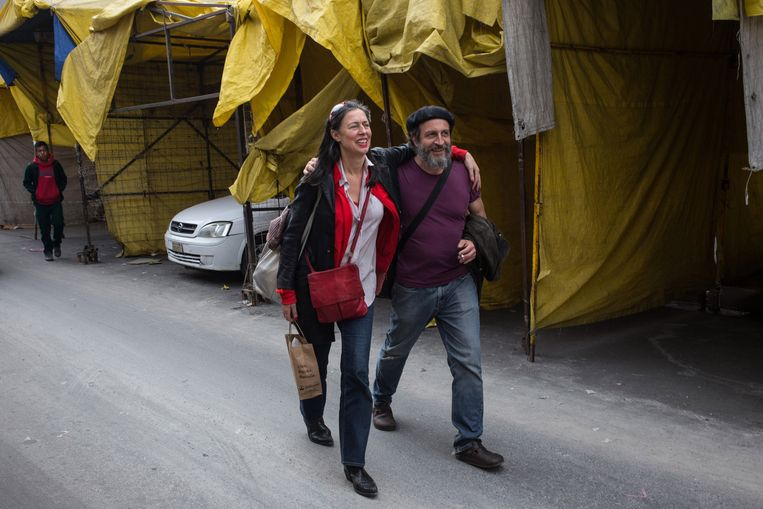 Adelheid Roosen en Daniel Giménez Cacho Beeld Mauricio Palos