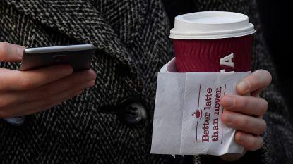 Britten vallen plots massaal voor herbruikbare koffiebekers