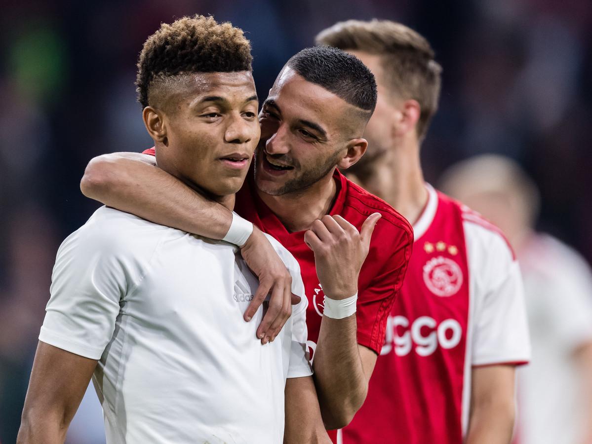 Blijft na David Neres ook Hakim Ziyech langer bij Ajax?