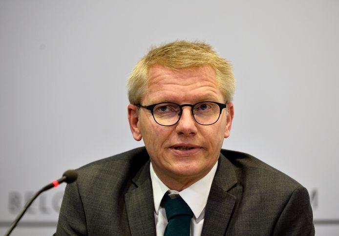 Federaal mobiliteitsminister Georges Gilkinet.