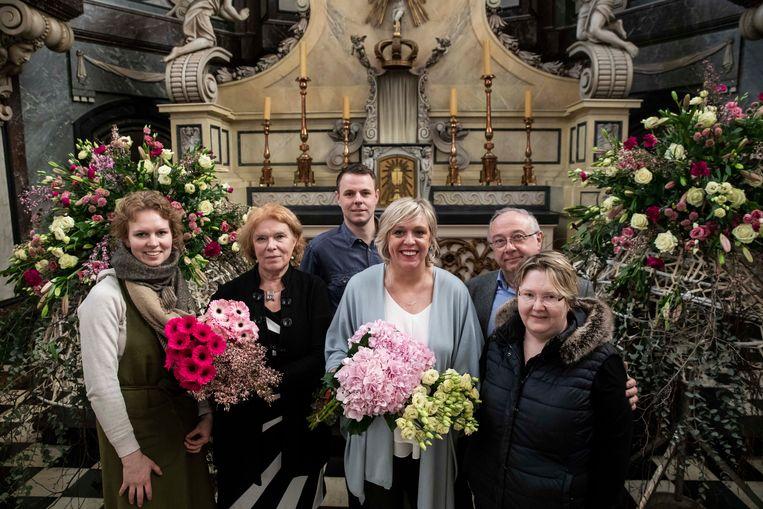 'Limburg feest met bloemen en kunst' op de minderbroederssite in Sint-Truiden.