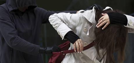 Vrouw van tas beroofd op Spui