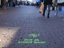 Mysterie opgelost: dit is het doel van deze graffititekst op de Leidse straten