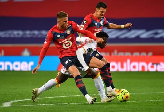 José Fonte en Sven Botman lieten pas twee tegengoals door in de eerste zeven duels namens Lille.