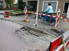 En toen zat er in Kloosterzande een gat in de weg...