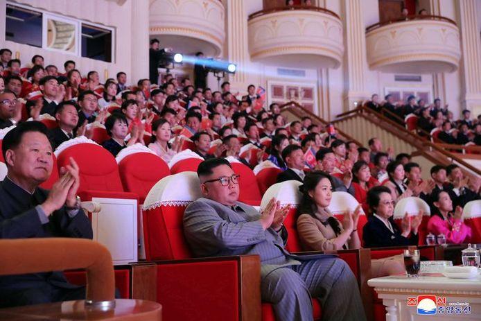 Kim Jong-un le 25 janvier, date de sa dernière apparition en public.