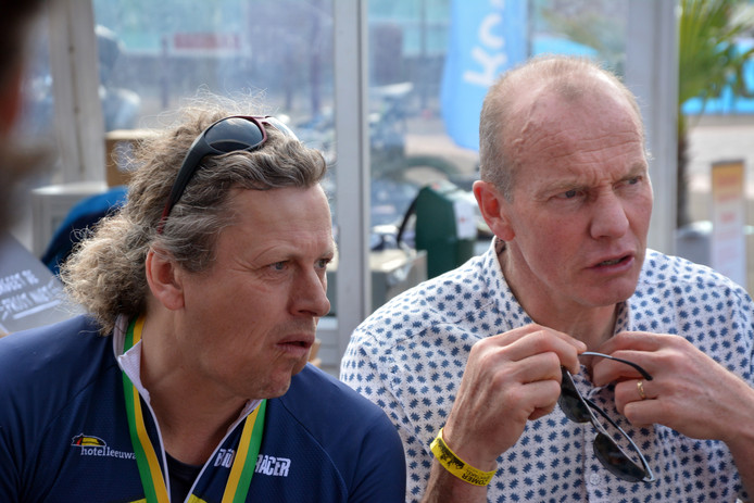 Syb van der Ploeg van De Kast en Henk Angenent.