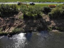 Bevergangen ontdekt langs IJssel bij Deventer en Diepenveen en door waterschap verwijderd