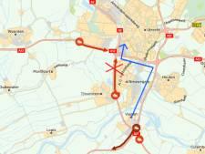 A2 bij Nieuwegein weer open richting Amsterdam na ongeluk