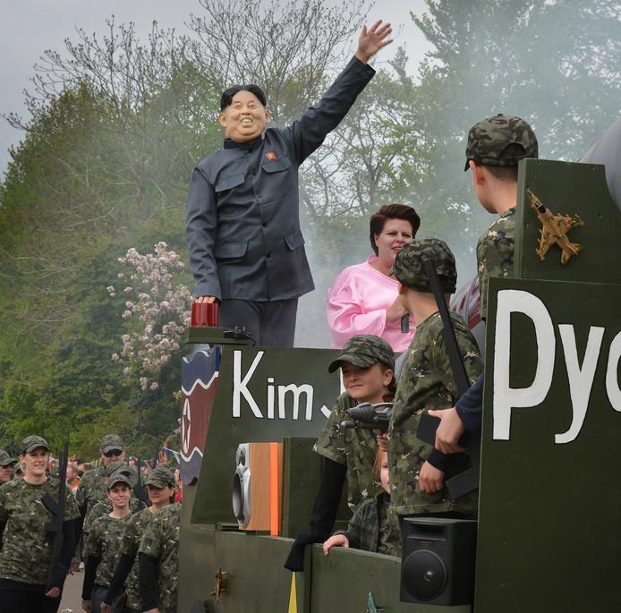Kim Jong Un in Deil.