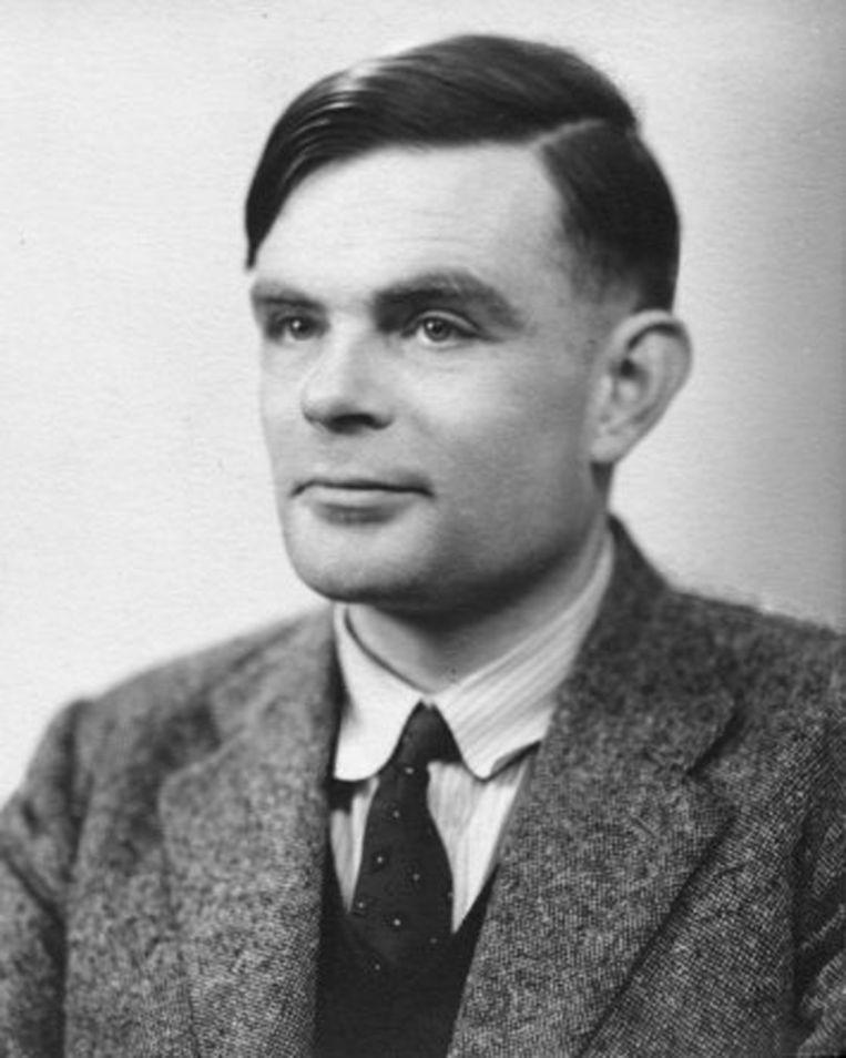 Alan Turing ten tijde van zijn verkiezing als lid van de Britse Royal Society. Beeld -
