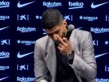 """Les adieux émouvants de Luis Suarez: """"Fier d'être entré dans l'histoire"""""""