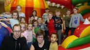 Kinderen overrompelen de Springplaneet in 't Gildenhuis