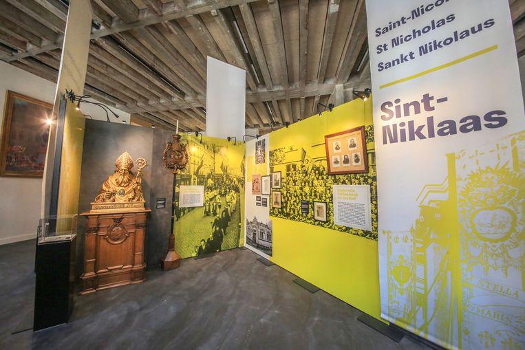 De tentoonstelling toont een mooi overzicht van acht eeuwen Ieper.