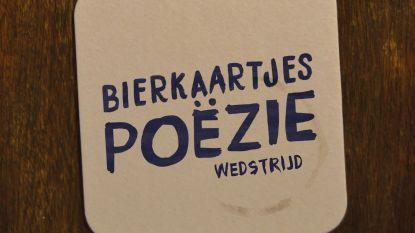 Schrijf je mooiste gedicht op een bierkaartje