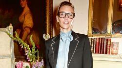 Belgisch topmodel Hannelore Knuts neemt haar zoon mee op de catwalk