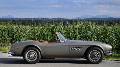 Oldtimer Event strikt BMW 507 Roadster