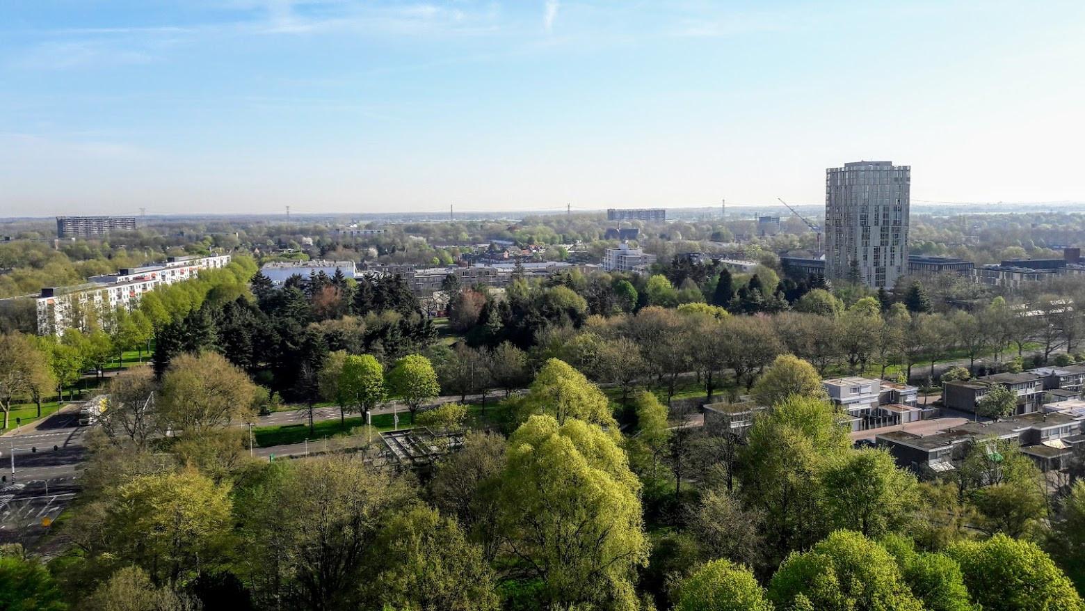 Uitzicht over Tilburg-Noord.