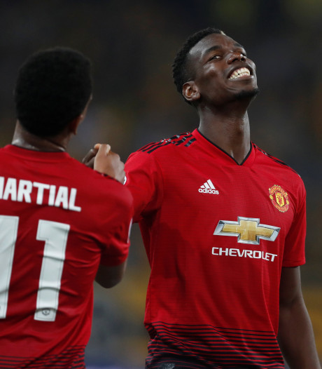 Pogba leidt United langs Young Boys