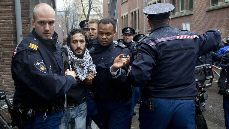 Activist Abulkasim Al-Jaberi. Beeld anp