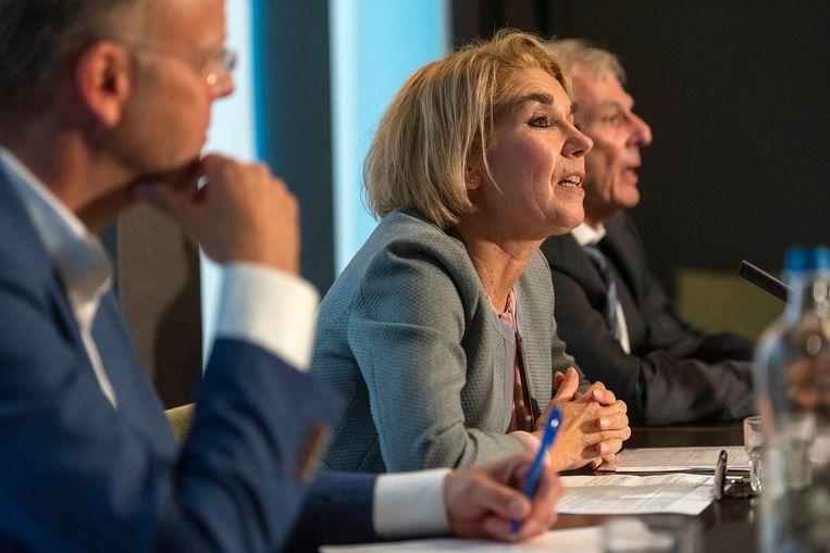 Bestuursvoorzitters Mariska Tichem van het MC Slotervaart. Beeld anp