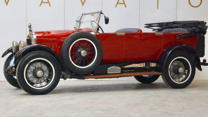 """Uiterst zeldzame Minerva uit 1925 wordt geveild bij Vavato: """"Zo oud en nog in zo'n goeie staat: deze auto is uniek"""""""