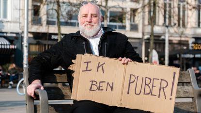 """Bart De Wever kop van Jut op Antwerpse klimaatmars: """"Door zijn uitspraken had ik vanmorgen mijn protestbordje klaar"""""""
