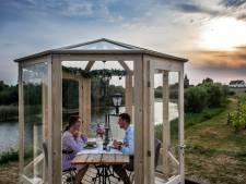 Herberg de Engel blij met terrashuisjes, veel interesse van grote bedrijven